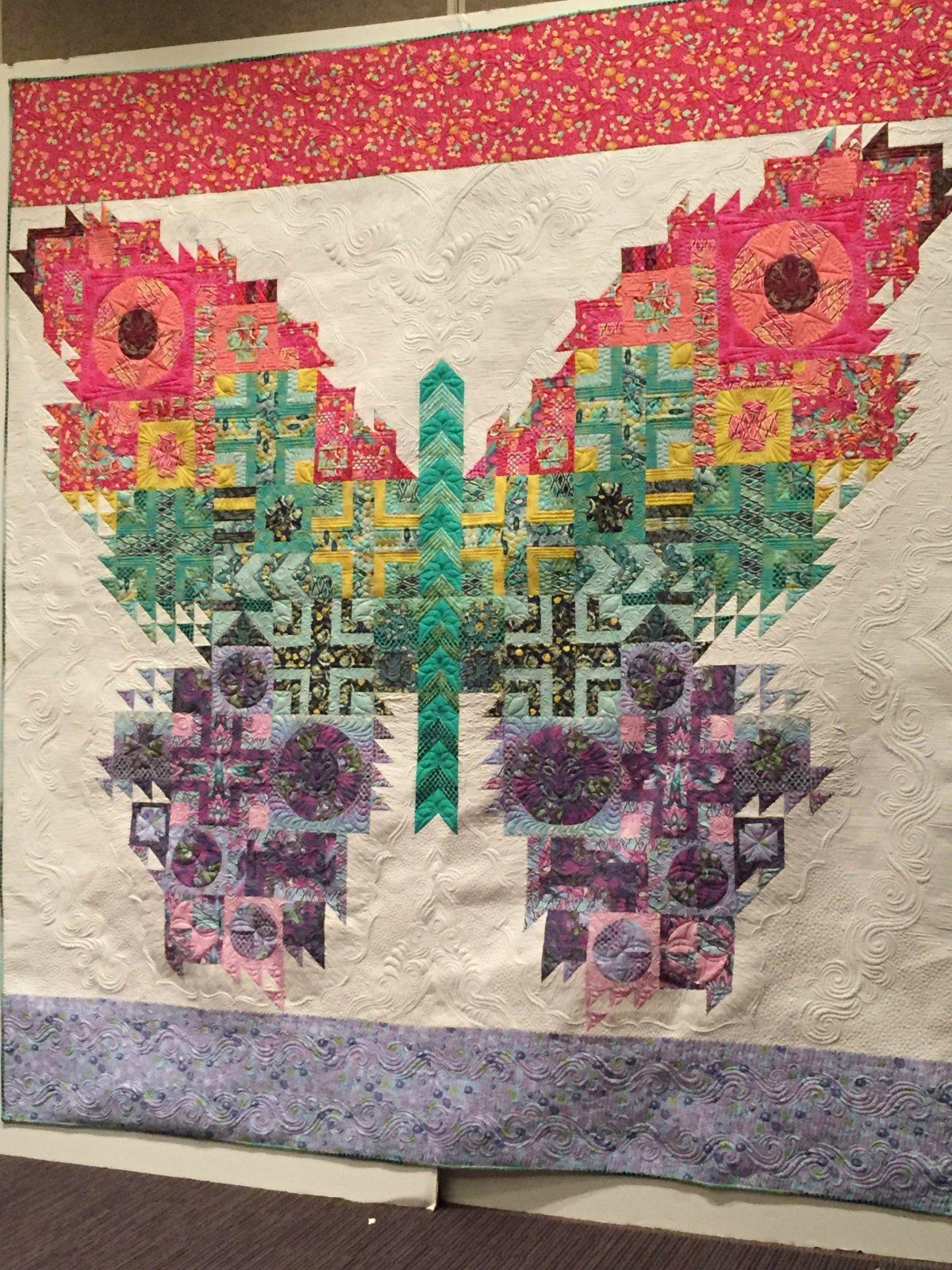 The Eden Moth Quilt Top Kit : tula pink quilt kits - Adamdwight.com