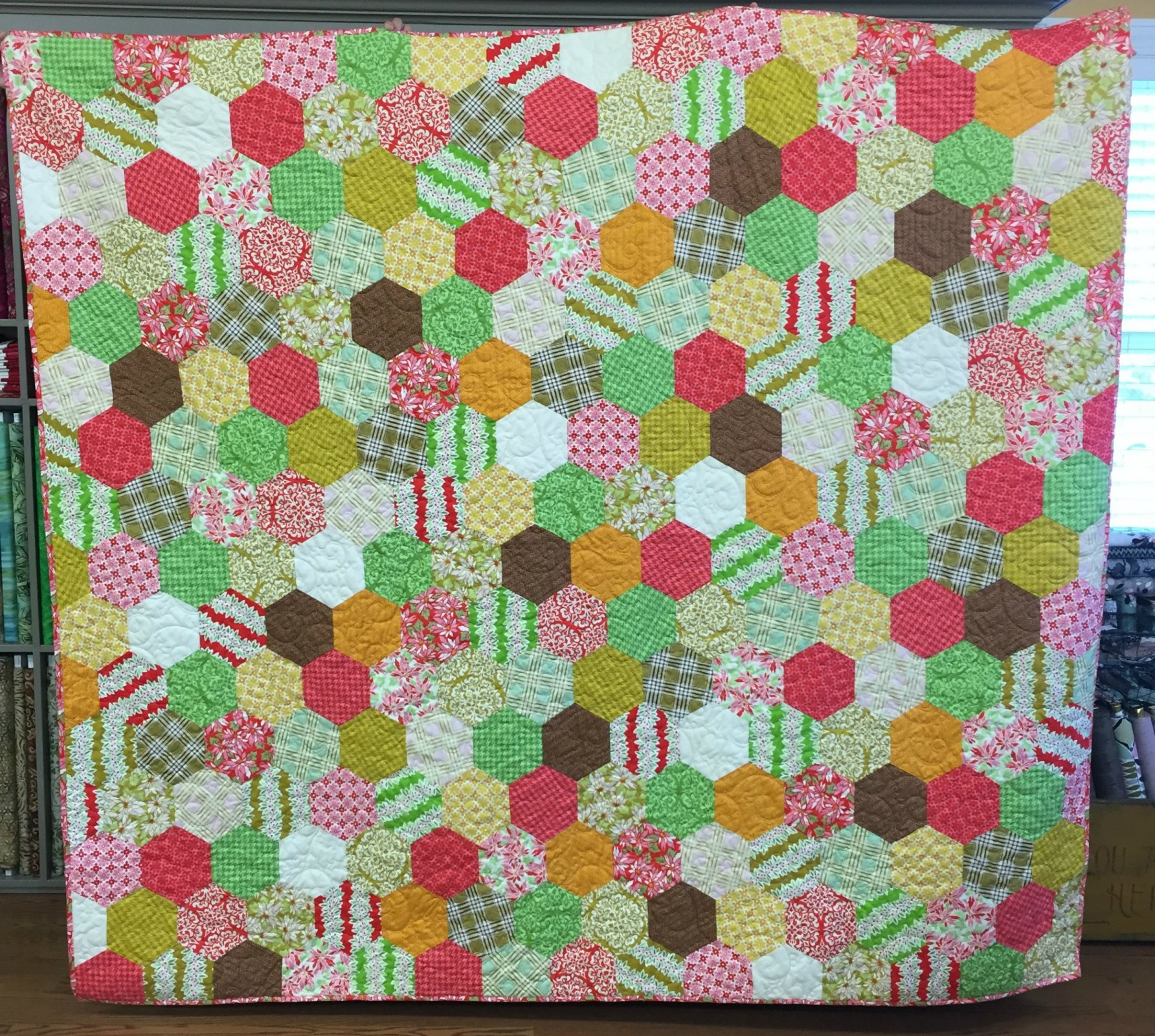 Ginger Snap Quilt Top Kit