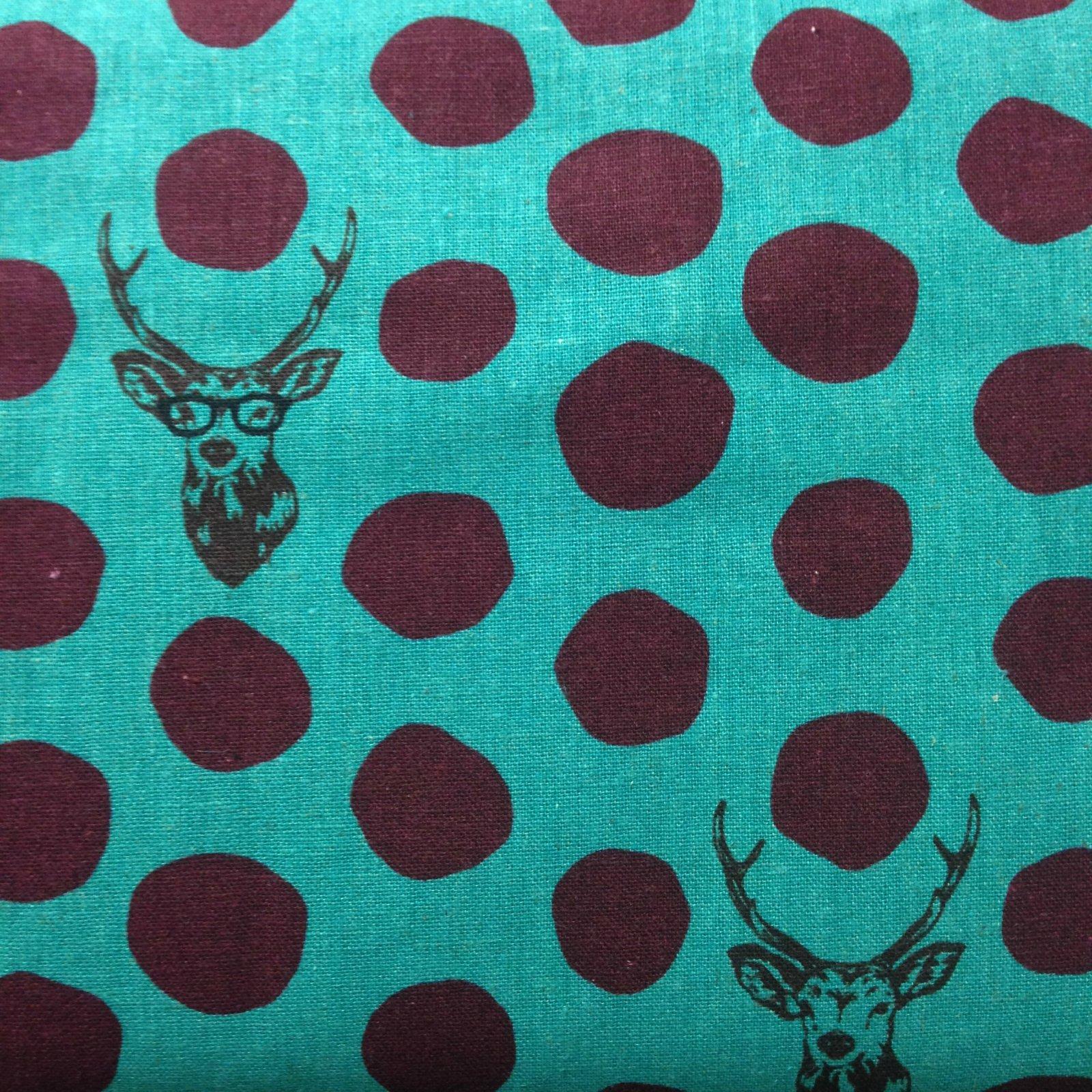 Echino - Fall 2014 - Bucks and Dots - Turquoise