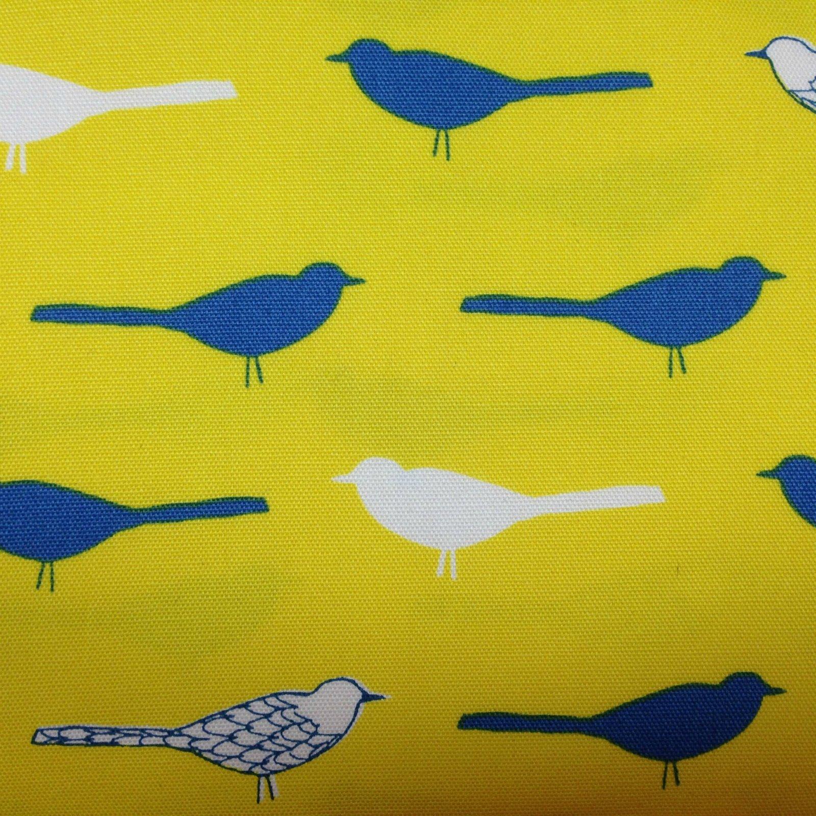 Oxford Canas - Birds - Yellow