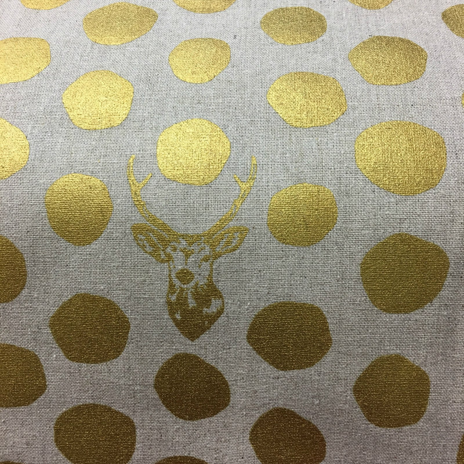 Echino - Dots - Metallic Gold