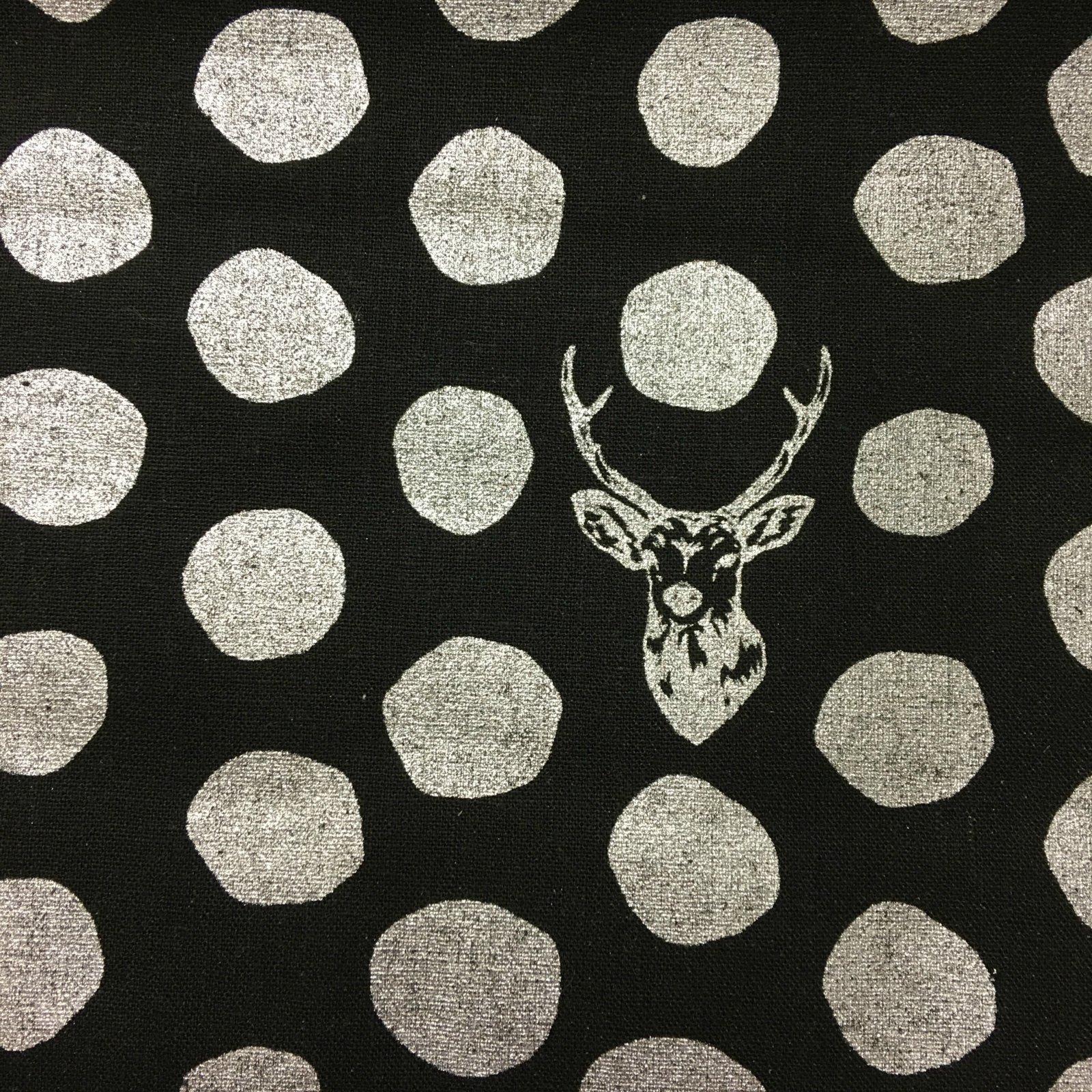 Echino - Dots - Metallic Silver/Black