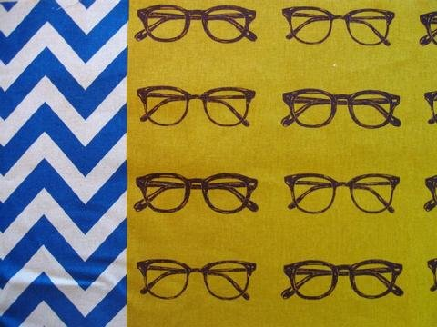 Echino - Glasses B - Chartreuse