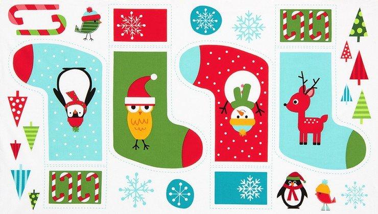 Ann Kelle - Jingle 4 - Stocking Panel