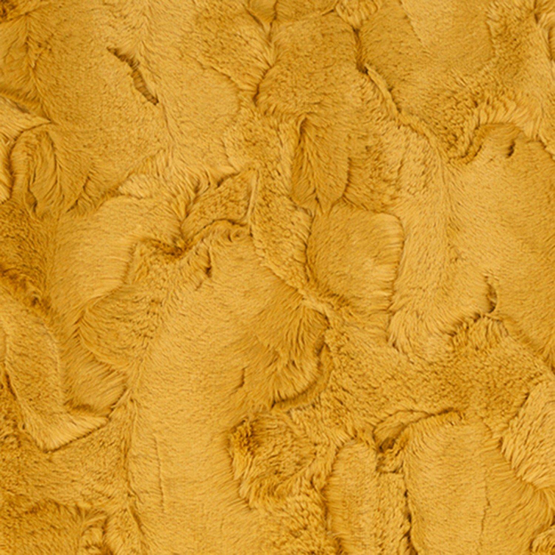 Luxe Cuddle Hide Embossed - Golden