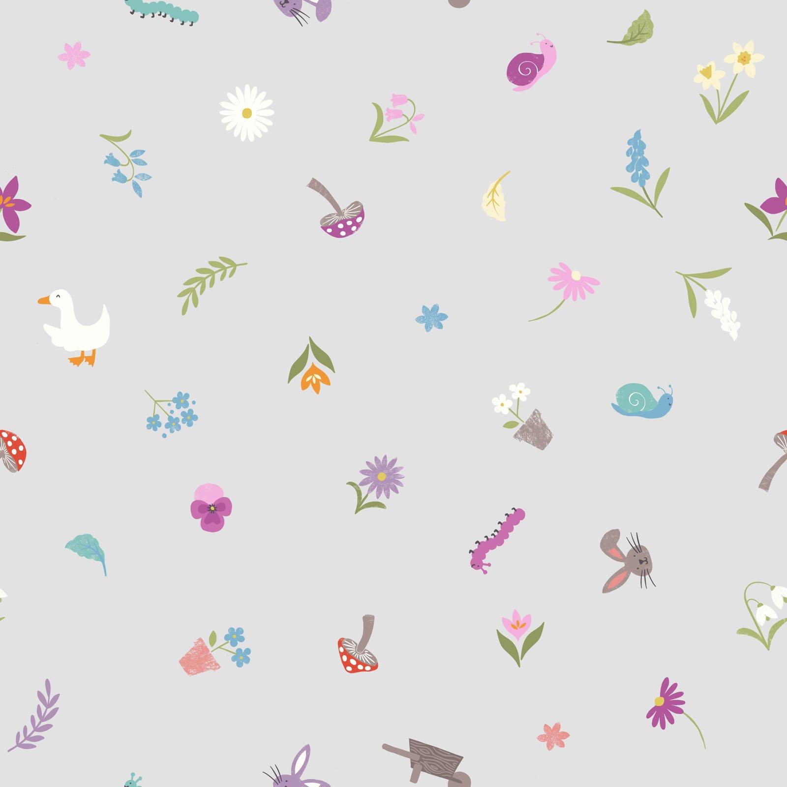 Jolly Spring - Pretty Little Spring - Grey