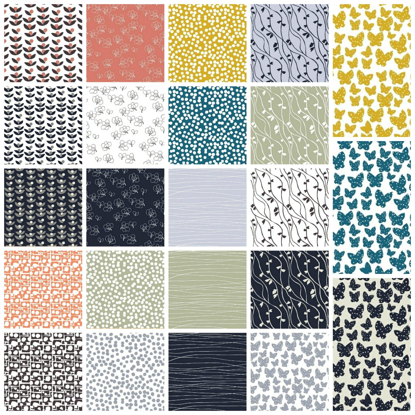 Lilla - Half Yard Bundle