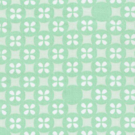 Robert Kaufman - Little Prints Double Gauze - Mint