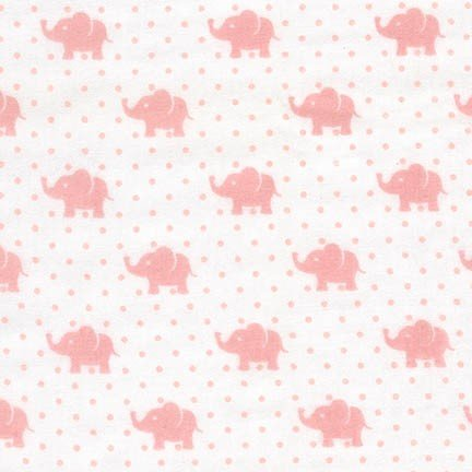 Robert Kaufman - Little Prints Double Gauze - Pink