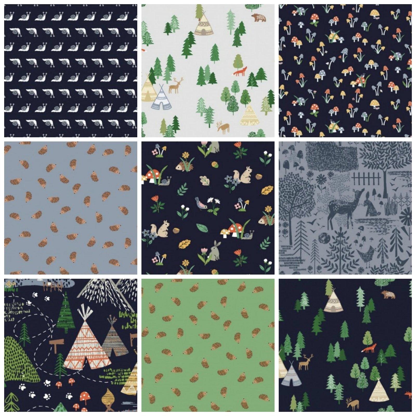 May the Forest Be With You - Half Yard Bundle