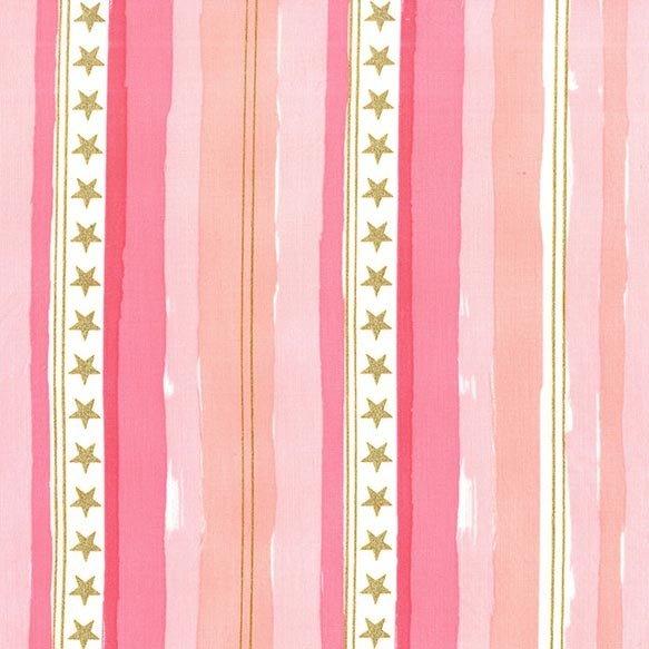 Sarah Jane - Magic - Stars and Stripes - Pink