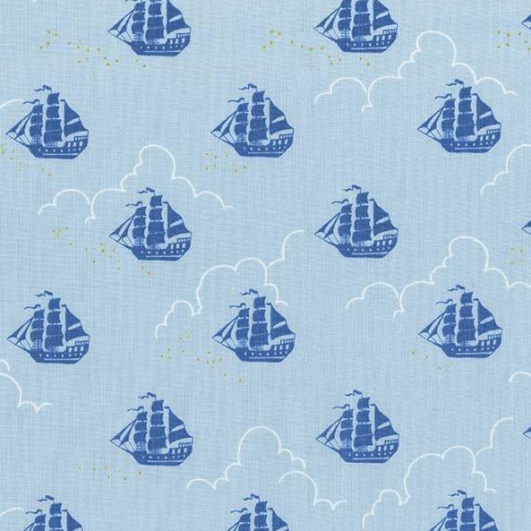 Sarah Jane - Peter Pan - Jolly Roger - Blue