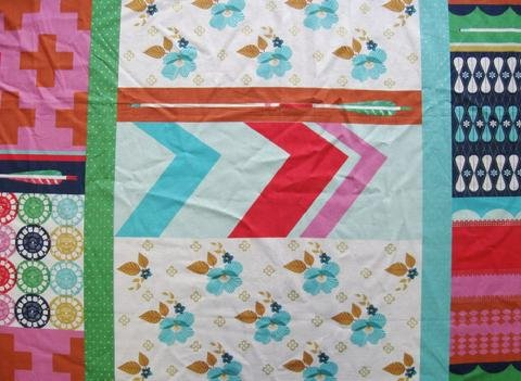 Melody Miller - Ruby Star Polka Dot - Patchwork - Aqua