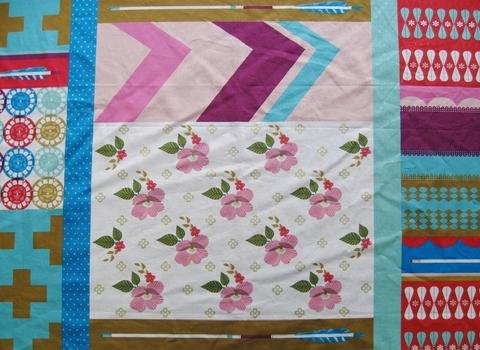 Melody Miller - Ruby Star Polka Dot - Patchwork - Pink