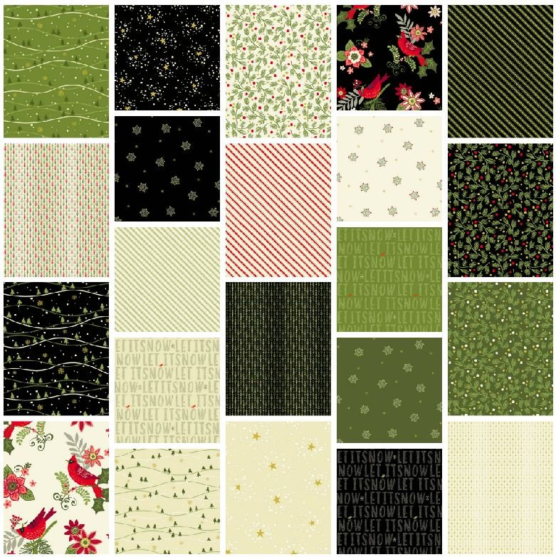 Andover - Mistletoe - Fat Quarter Bundle
