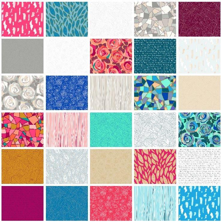 Andover - Mosaic - Half Yard Bundle