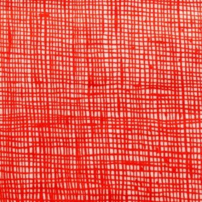 Alexander Henry - Heath - Natural/Red
