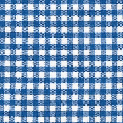Robert Kaufman - Carolina Gingham 1/4 - Royal