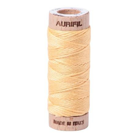 Aurifloss Cotton 6 Strand - 2130 - Solid Medium Butter