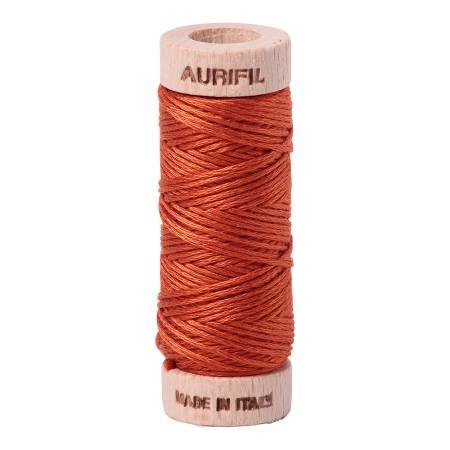 Aurifloss Cotton 6 Strand - 2240 - Solid Rusty Orange