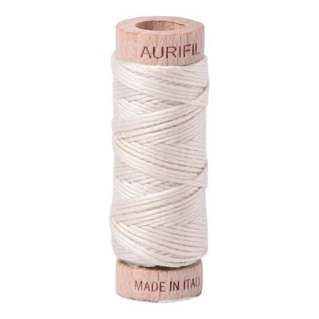 Aurifloss Cotton 6 Strand - 2309 - Solid Silver White