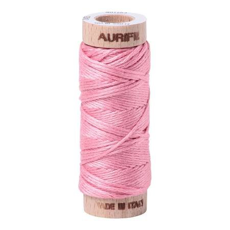 Aurifloss Cotton 6 Strand - 2425 - Solid Bright Pink