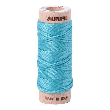 Aurifloss Cotton 6 Strand - 5005 - Variegated Medium Turquoise