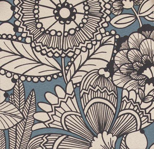 Alexander Henry - A Ghastlie Gardenia - Freezing Blue