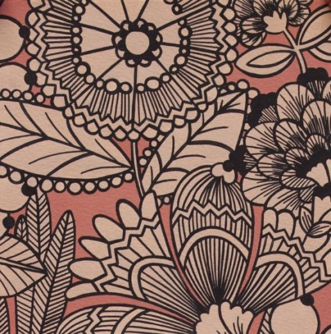 Alexander Henry - A Ghastlie Gardenia - Flushed Pink