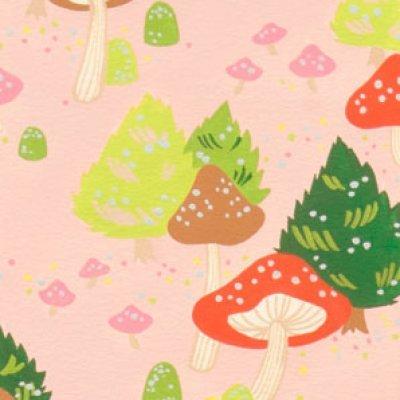 Alexander Henry - North Pole Mushroom - Pink