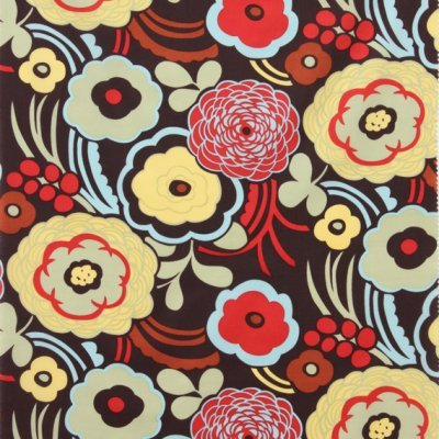 Alexander Henry - Mocca Lawn - Red