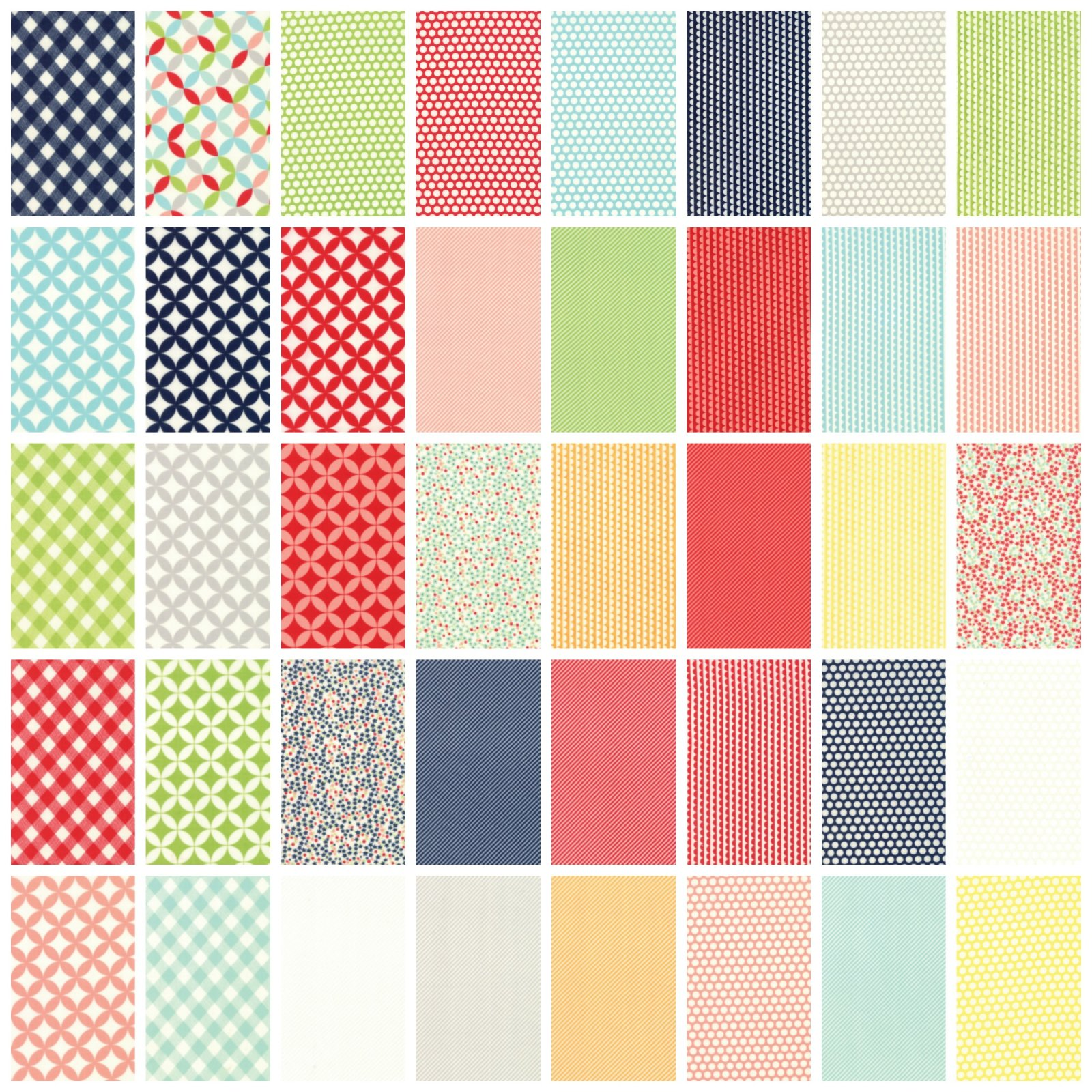 Bonnie & Camille - Basics - Fat Quarter Bundle