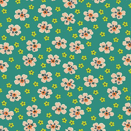 Washington Depot - Flower Girl - Teal