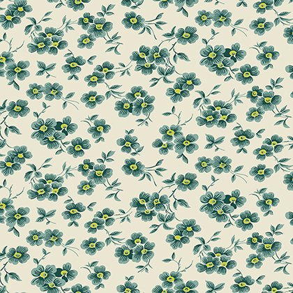 Washington Depot - Wall Flower - Teal