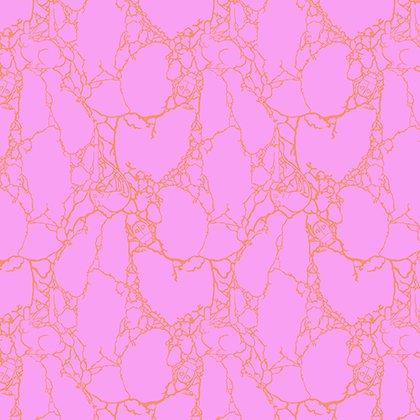 By 1//2 Yard Free Spirit Fabric Spirit Animal by Tula Pink Petal Heads Sun Kissed