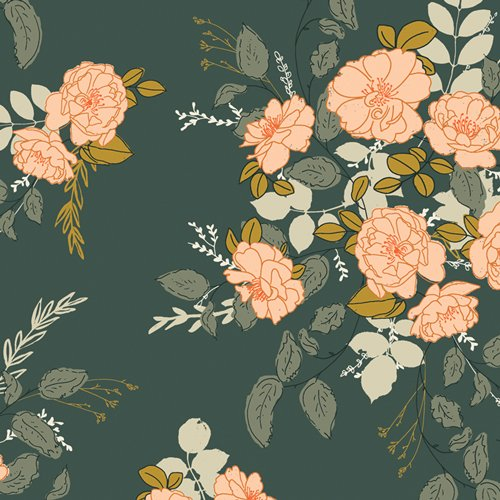 Her & History - Georgette's Secret Garden - Rayon
