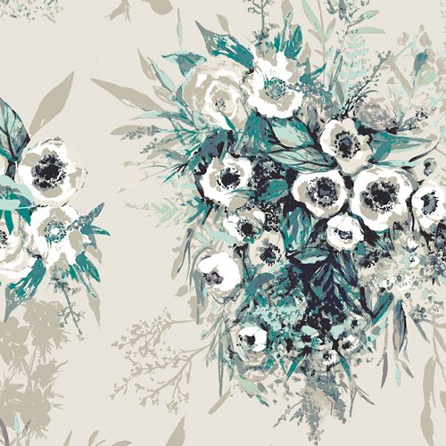 Aquarelle - Rayon - Buttercups Still Life
