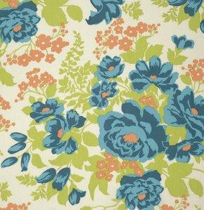 Joel Dewberry - Flora Rayon - Rose Bouquet - Carrot