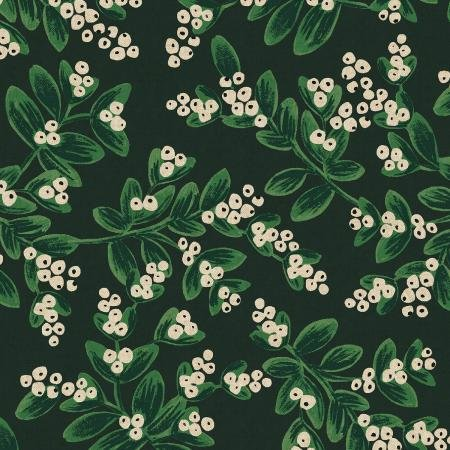 Rifle Paper Co. - Holiday Classics Canvas - Mistletoe - Evergreen