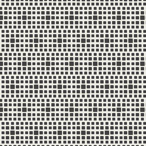 Art Gallery Fabrics - Square Elements - Noir