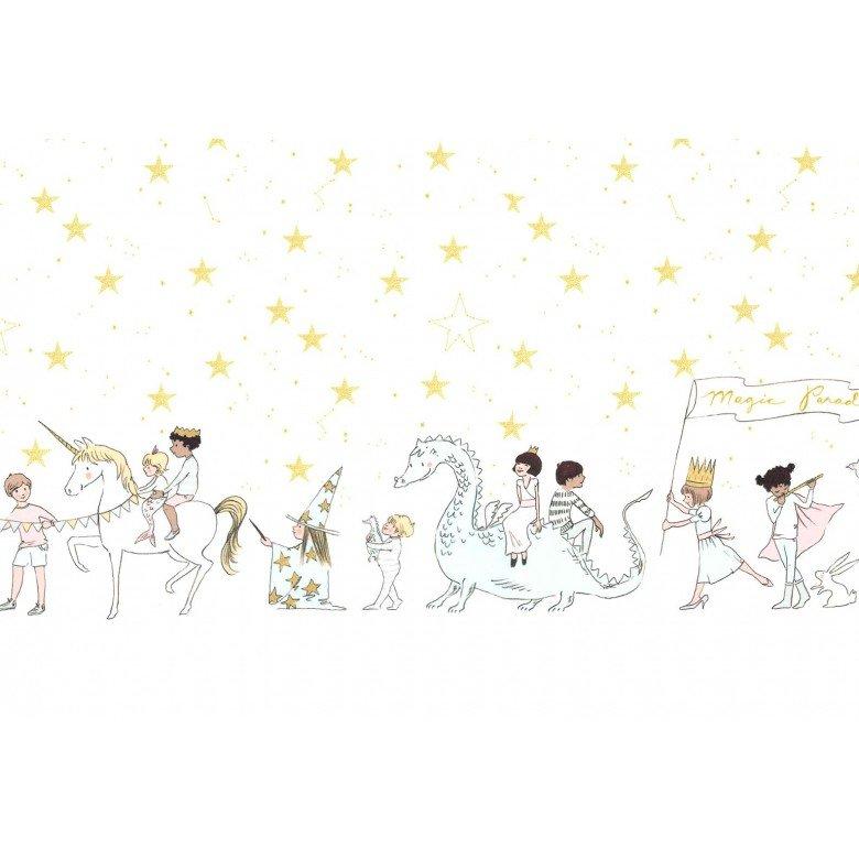Minky - Magical Parade - White