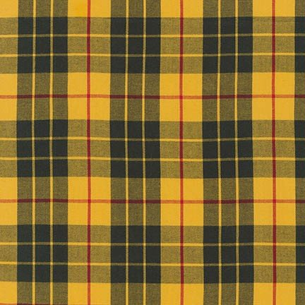 Robert Kaufman - House of Wales Plaids - Yellow