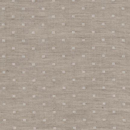 Robert Kaufman - Double Gauze Chambray Dobby - Natural