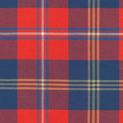 Robert Kafman - Grizzly Plaid - 16417 - Red