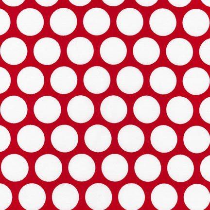 Robert Kaufman - Spot On - Red
