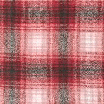 Mammoth Flannel - Plaid - Gray Red