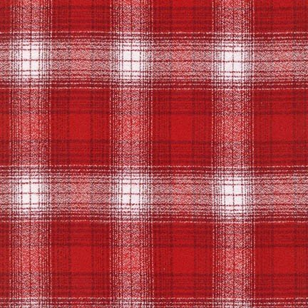 Mammoth Flannel - Plaid - Red White
