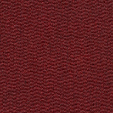 Shetland Flannel - Cranberry