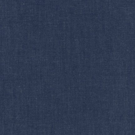 Robert Kaufman - Cotton Rayon Chambray Twill - Indigo