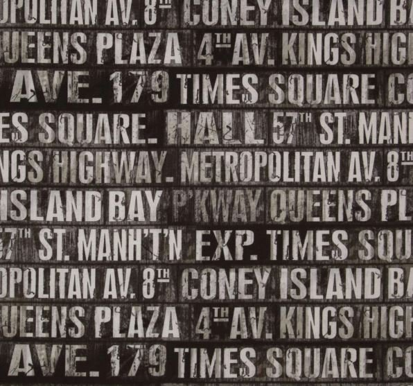 Eclectic Elements - Subway Signs - Taupe